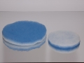 Materiale filtrante bi-color