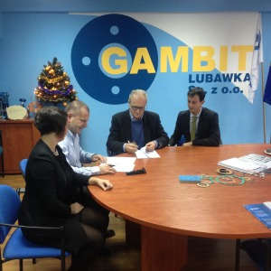 Firma accordo con Gambit Group