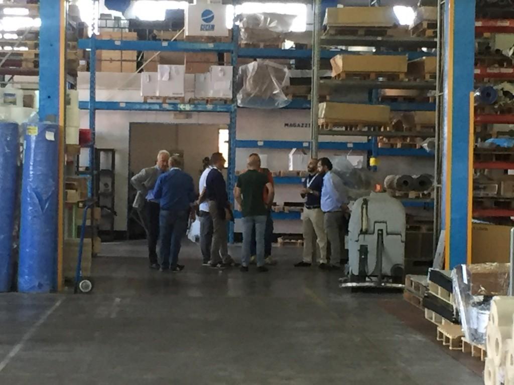 Gecam - visita allo stabilimento produttivo