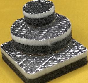 Assemblato di Poliuretano e fibra di poliestere