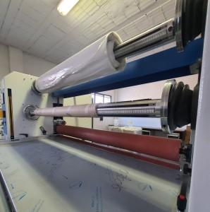 Accoppiatrice materiali flessibili e biadesivi